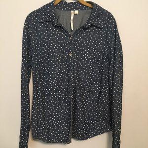 Lauren Conrad jean shirt